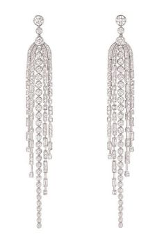 Chanel Diamond earrings from Chanel's 1932 Collection