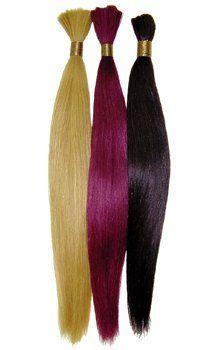 Silky Straight, 18 inch Braids by Sensationnel. $45.99. Loose Hair (Trackless, Bulk). Silky Straight. Hair Extensions. Sensationnel. 18 inch Silky Straight Bulk for Braiding. 100% human hair