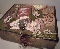 Keepsake Box by NC_stamper - Cards and Paper Crafts at Splitcoaststampers