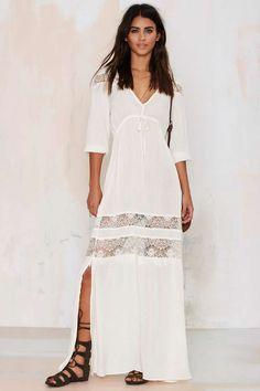 Wistful Thinking Lace Maxi Dress