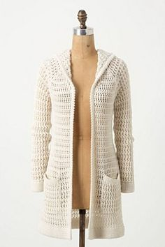 crochet jacket is creative inspiration for us. Get more photo about home decor related with by looking at photos gallery at the bottom of this page. Crochet Jacket, Crochet Cardigan, Crochet Scarves, Crochet Shawl, Crochet Yarn, Crochet Clothes, Crochet Sweaters, Diy Kleidung, Pulls