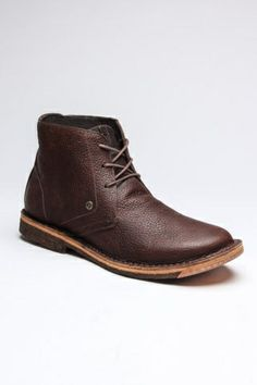 Men's Leather Boot.