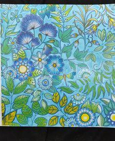 """Gefällt 249 Mal, 11 Kommentare - Sonja Meyer (@bastelfrosch) auf Instagram: """"So sieht das Bild aus Johannas Mein verzauberter Garten jetzt fertig aus !!! ⚘🌱⚘ Johanna Basford…"""""""