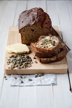 Healthy banana bread - made with spelt and buckwheat flour and no processed sugar. Great fresh or toasted. And you can freeze it for later as well.