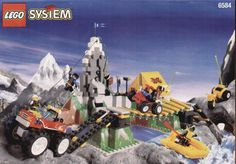 Town - Extreme Team Challenge [Lego 6584] ------- Oh, man. This set was awesome. So much fun!