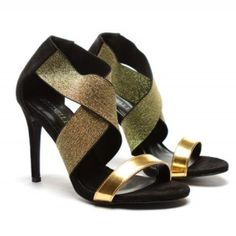 Gold, Shoes, Fashion, Moda, Zapatos, Shoes Outlet, Fashion Styles, Shoe, Footwear