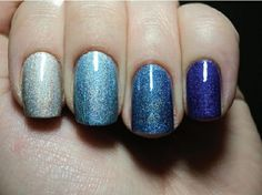 blue nail design - The Magnificent of Blue Nail Designs – Cub Pack ...