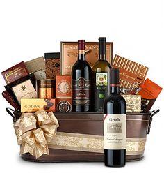 Premium Wine Baskets: Groth Reserve Cabernet Sauvignon Wine Basket - Martha's Vineyard