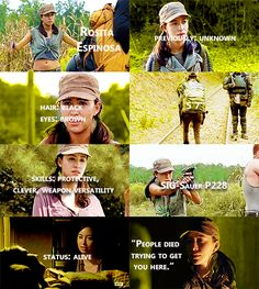 Knowing About Rosita Espinosa #TWD