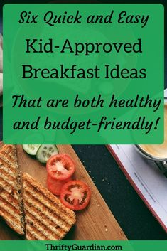 Kid friendly breakfast ideas that are also healthy and quick! Breakfast ideas for the busy parent.