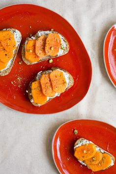 Persimmon Bruschetta / See and Savour
