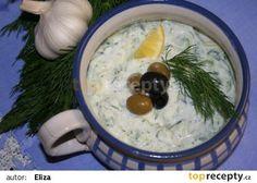 Řecké tzatziky recept - TopRecepty.cz