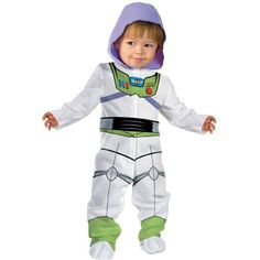Disguise Baby Boys Disney Pixar Toy Story and Beyond Buzz Lightyear Classic Costume White 06 Months ** For more information, visit image link.Note:It is affiliate link to Amazon. #shoutout