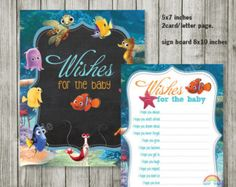 Finding nemo baby shower invitation by jennya309 on etsy 1100 finding nemo baby shower invitation by jennya309 on etsy 1100 gabby shower pinterest finding nemo shower invitations and babies filmwisefo