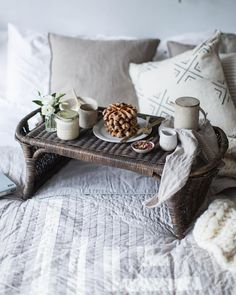 «It's Sunday! And that means the fine ritual of an involved breakfast, preferably eaten picnic style in bed. You can find a recipe for just that (those…»