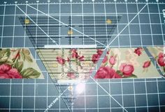 Great tutorial for a half hexagon quilt.