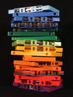 Cassette tapes. Yep I had these tapes in the 80s