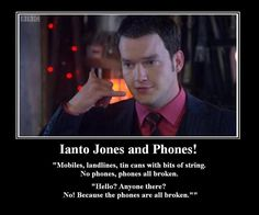 I know it's Torchwood, but there just aren't enough Torchwood pins for me to create a board so, as its a spin off, it's going on my Doctor Who board. I love Ianto.