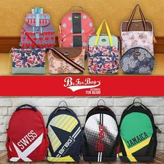 The collection of BeForBag bags. Various different designs for him and her. #beforbag #bags #ladiesbags #mensbags #backpacks #sling #totes #wallets
