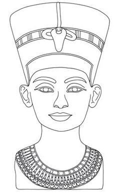Egyptian Example Ancient Egypt Coloring Pages Egyptian Crafts, Egyptian Art, Egyptian Jewelry, Ancient Egypt For Kids, Ancient Egypt Crafts, Ancient Aliens, Ancient Greece, Egyptian Drawings, African Art Paintings