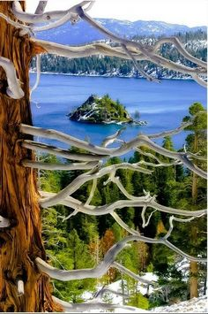 Amazing Lakes- California -Emerald Bay, Lake Tahoe-California
