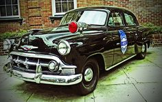 1953 Police Car   by Patricia Greer http://fineartamerica.com/featured/1953-police-car-patricia-greer.html