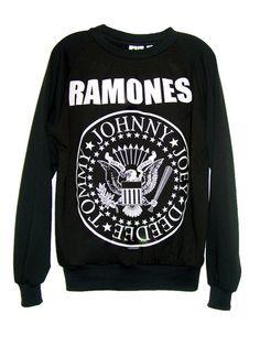 Ramones Presidential Seal Logo Long Sleeve