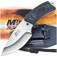 MTech Xtreme MX-8035 Micarta Handle Neck/Boot Knife w/ Sheath | MooseCreekGear.com | Outdoor Gear — Worldwide Delivery! | Pocket Knives - Fixed Blade Knives - Folding Knives - Survival Gear - Tactical Gear