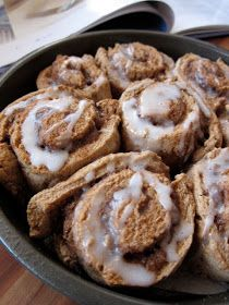 swEEts by e: Quick & Easy Whole Wheat Cinnamon Rolls