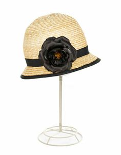 Jewelry & Accessories | Hats | Straw Clouche Hat | Lord and Taylor