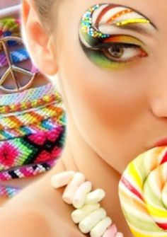 bright colors - made by Sasha   with Bazaart #collage