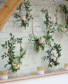Jasmine Floral Hoops - ift.tt/2COLrr9