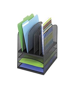 @Overstock - Tired of your messy office? Keep everything in its place with this handy 8-section mesh desk organizer. Constructed of durable steel mesh with a black finish, it will keep your papers, folders, and other documents secure and easy to locate.http://www.overstock.com/Office-Supplies/Safco-8-Section-Mesh-Desk-Organizer/3037539/product.html?CID=214117 $35.04