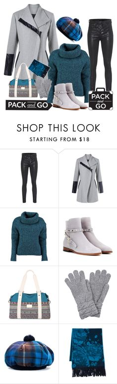 """""""Winter Getaway"""" by mamiigou ❤ liked on Polyvore featuring rag & bone, Lowie, Valentino, Fraas and Packandgo"""