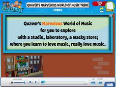 do your students know the words to quavers theme song see how you can easily - Who Wrote The Halloween Theme Song