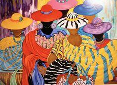 Mulheres fenomenais, s/d [DETALHE] Maragaret Warfield (EUA, contemporânea) Serigrafia Margaret Warfield African American Artist, American Artists, African Art, American Women, Black Art Painting, Black Artwork, Afro Art, Black Women Art, Black Artists