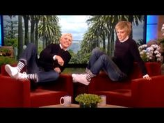 Ellen DeGeneres With Gladys From Austin, Texas The very first conversation - YouTube