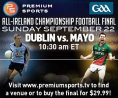 My grandpa was born in Mayo and his sister lives in Dublin. This should be a great match!