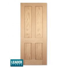 Internal Oak Traditional Victorian Shaker 4 Flat Panel Door £80 -Toilet Door? Better then Bi-Fold for sure.