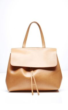 Dream bag. Mansur Gavriel Lady Bag in Cammello with Rosa