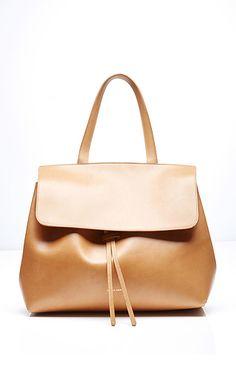 Dream bag. Mansur Gavriel Lady Bag in Cammello with Rosa