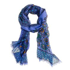Vibrant paisley scarf loved the colours