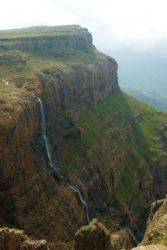 Origin of the Tugela River.  Kwazulu-Natal - South Africa