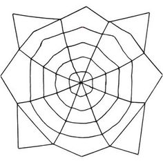 6' Oversized Halloween Spider Web - I think I can make one of these w/ glow-in-the-dark nylon rope for the front pine trees.