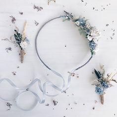 Wedding accessories Flower crowns Hair combs von SERENlTY auf Etsy