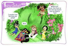 Pocket Princesses 201: Vacation