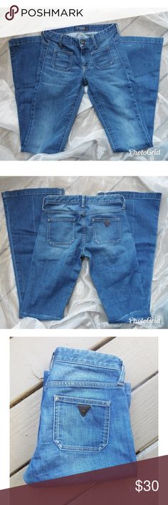 Guess Super cute wide leg jeans. You will love these. From my personal collection. Guess Jeans Flare & Wide Leg