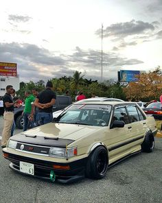 Rad Racer  /  Toyota Corolla E80