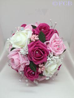 The Jeslyn Bridal Bouquet www.fionacatherine.co.uk