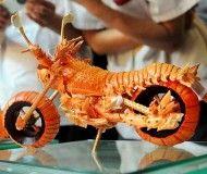 Unusual Lobster Motorcycle